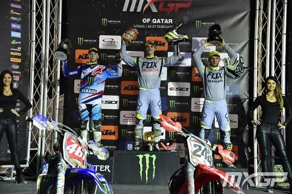 MXGP podium
